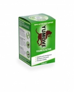 Yumove Products, Yumove Young and Active, Young and Active, dog nutrition, young dogs joints, camddwr