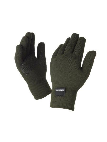 Seal Skinz Ultra Grip Black Waterproof Gloves Hats